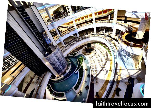 तेवर मॉल के इंटीरियर का एक प्रतिपादन। साभार: तवार मॉल