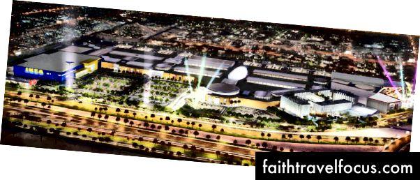 Doha Festival City rendering. Credit: DFC