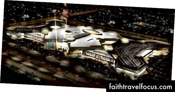 Vykreslování z Doha Mall. Kredit: Doha Mall