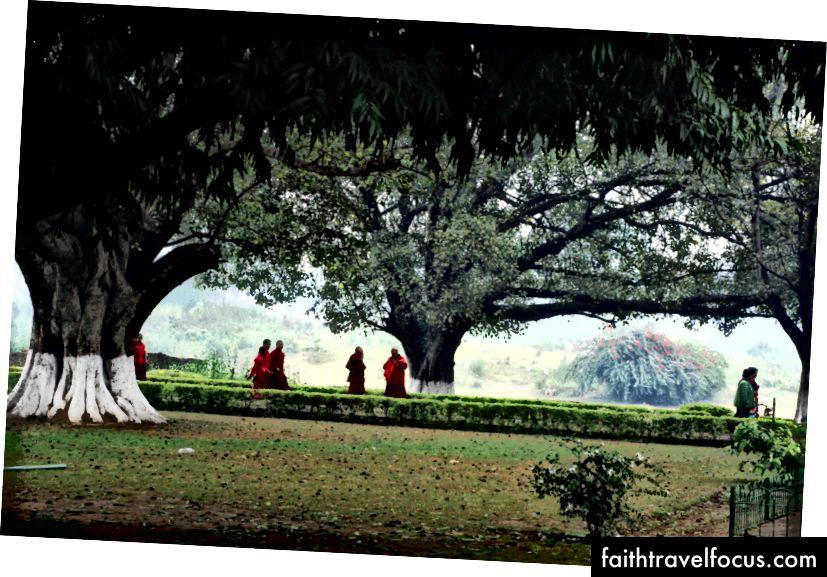 På gamle Nalanda, Bihar