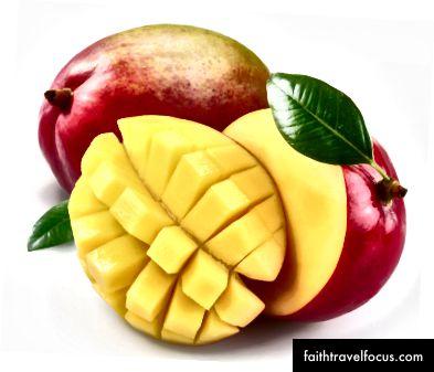 Uforklarlig bilde av mango