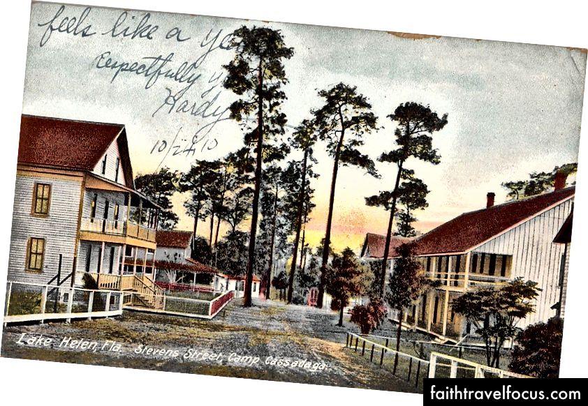 Phố Stevens ở Cassadaga, Florida 1908