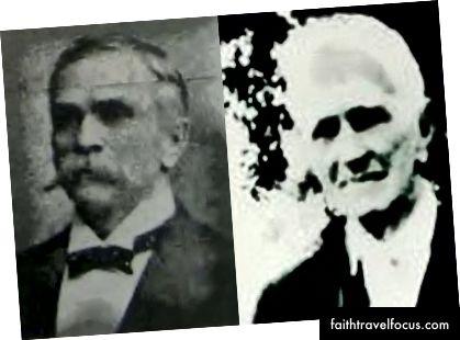 Hai bức ảnh của George P. Colby, không rõ ngày tháng.