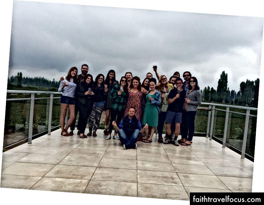 Một nhà máy rượu vang du lịch cuối tuần đáng yêu ở Mendoza, Argentina với một số người từ RY 1 (tại RYOGiến)