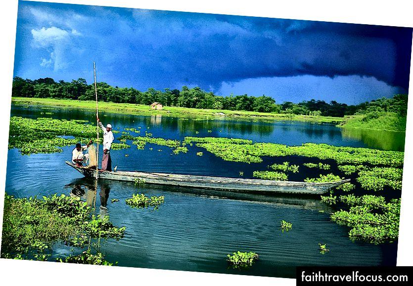 Đảo sông lớn nhất thế giới - Majuli, Assam