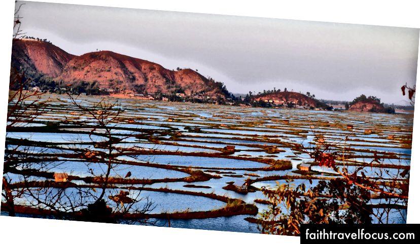 Hồ nổi duy nhất trên thế giới ở Moirang, Manipur