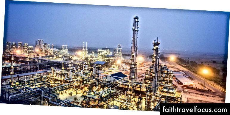 Nhà máy lọc dầu lâu đời nhất ở Ấn Độ - Nhà máy lọc Digboi, Assam