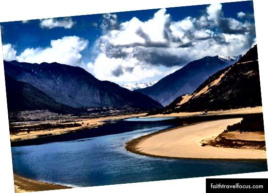 Brahmaputra như sông Siang ở Arunachal Pradesh