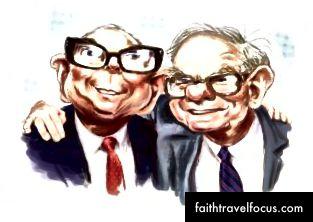 Munger ja Buffett - kaks sõpra, kes olid saavutanud rahalise vabaduse ja elasid väga hästi läbi uuritud elu - miks mitte mina?
