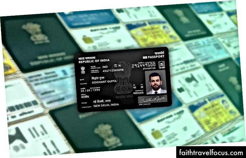 Thay thế một thẻ cho Sổ hộ chiếu, ID quốc gia, Giấy phép lái xe, Thẻ ID cử tri, ID quốc gia chính phủ, Đăng ký xe, Thẻ ghi nợ / thẻ tín dụng và mọi ID cá nhân khác.