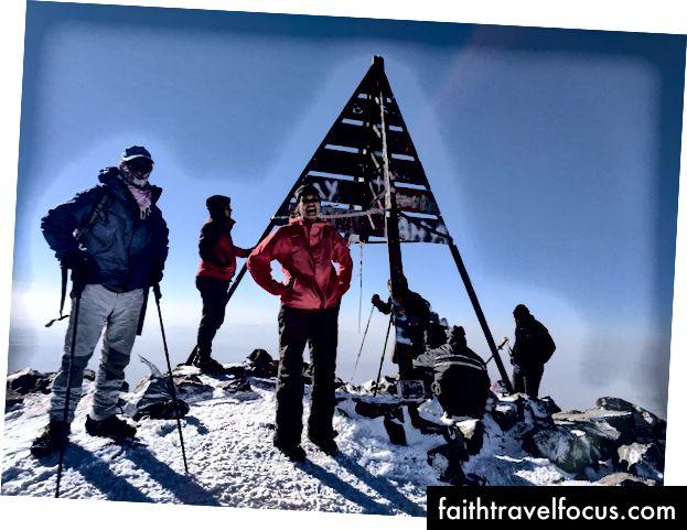 Ở đỉnh núi Atlas - cuối cùng!