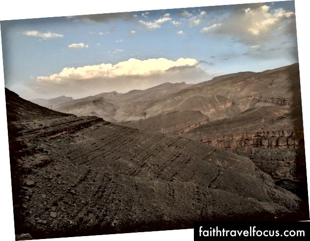 Phong cảnh làm tôi nhớ đến Grand Canyon