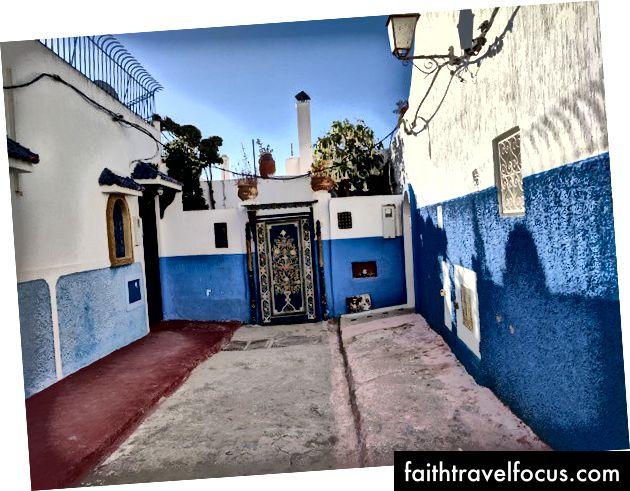 Kasbah màu xanh của Rabat