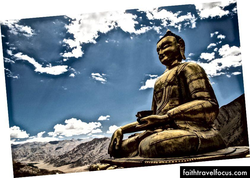 Tượng Phật tại Hemis (Tín dụng - Neeraj)