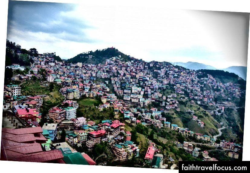 Shimla trong tất cả những vẻ đẹp của nó