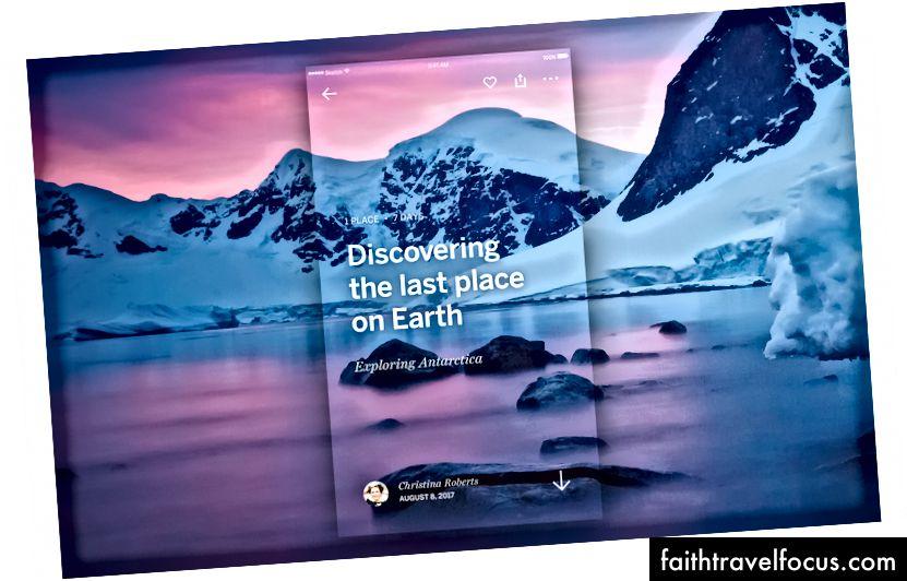Mỗi chuyến đi là một cửa sổ vào một thế giới mới tuyệt vời.