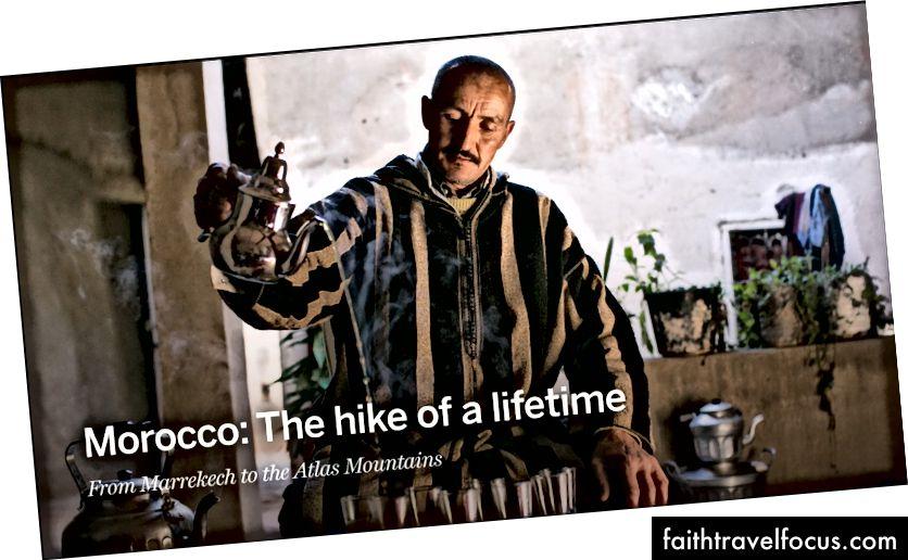 Morocco: Cuộc đi bộ của cả cuộc đời của Michaela Potterbaum