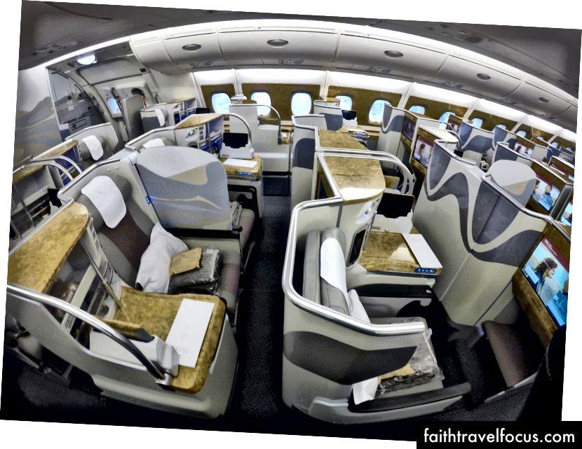 Tổng quan về hạng thương gia Emirates A380