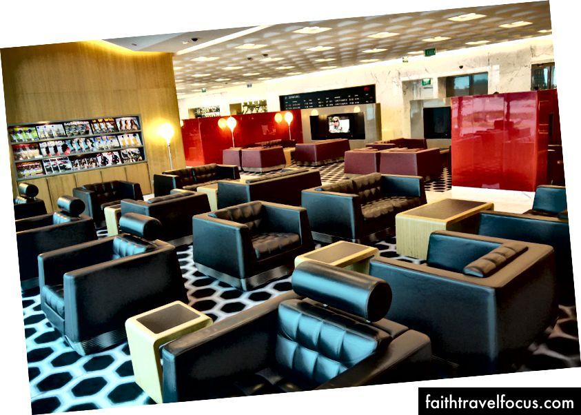 Qantas International First Lounge, tổng quan về Melbourne