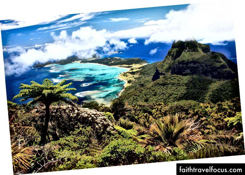 Đảo Lord Howe xinh đẹp