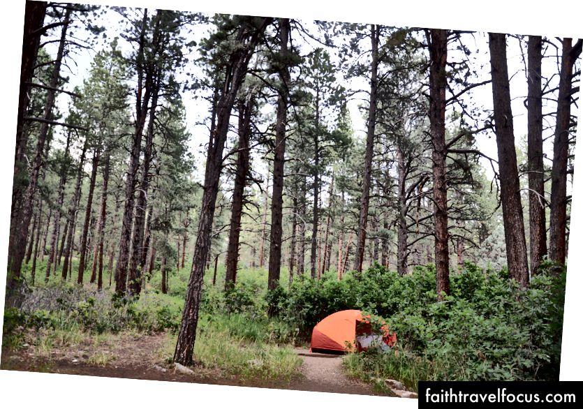 Khu cắm trại ngã ba gần Durango