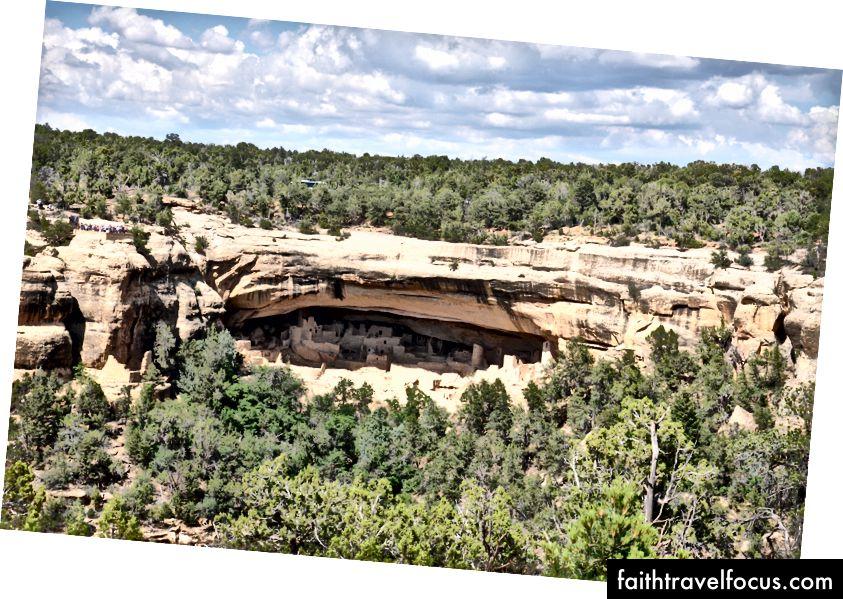 Cung điện Cliff tại Mesa Verde