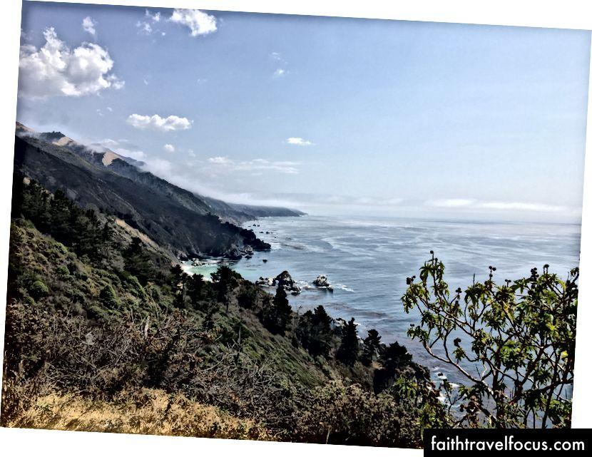 Nhìn lại bờ biển Big Sur