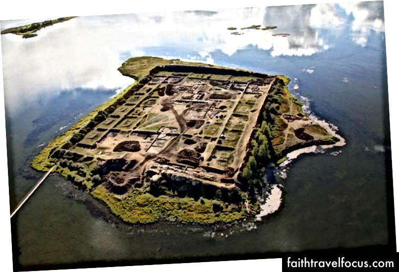 Pháo đài 1300 năm tuổi ở Siberia