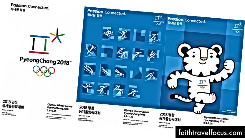 Sáu áp phích quảng cáo cho PyeongChang 2018 đã được tiết lộ trong tuần này.