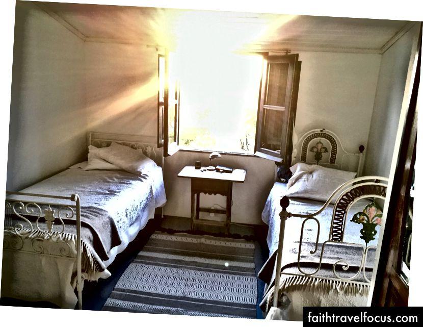 Phòng ngủ tại Dina Lát