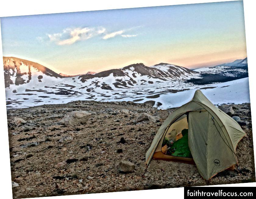 Agnes lớn nên trả tiền cho tôi cho bức ảnh tuyệt đẹp này của lều của họ. Gọi cho tôi, BA.