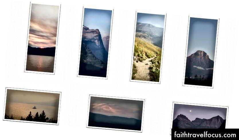 Một số hình ảnh của Công viên Quốc gia Glacier Tôi rất muốn chỉnh sửa