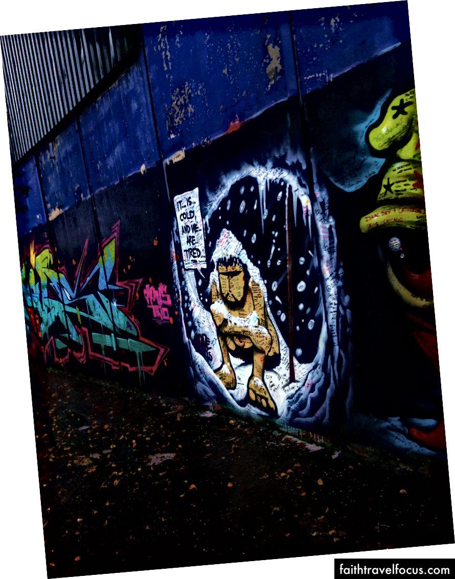 Bạn nói nó bức tranh tường từ Bức tường Hòa bình Belfast!