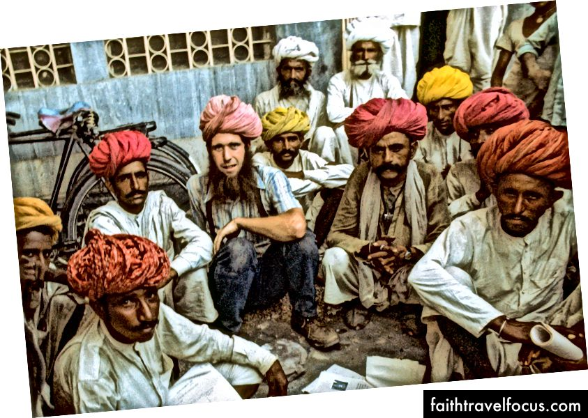 Kevin Kelly, Rajahstan, Ấn Độ, ~ 1975