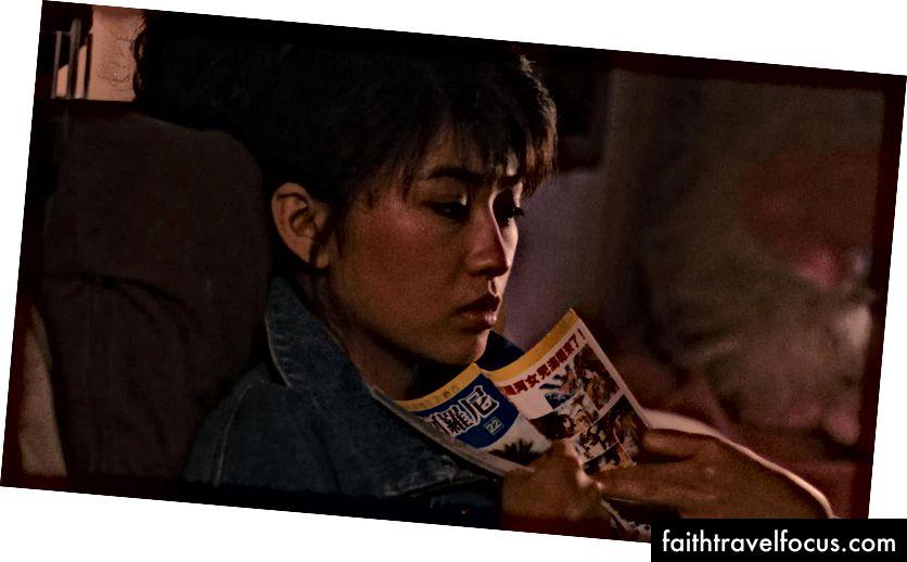 Lin Yang trong vai nữ anh hùng thụ động của Con gái của sông Nile   © Cohen Media