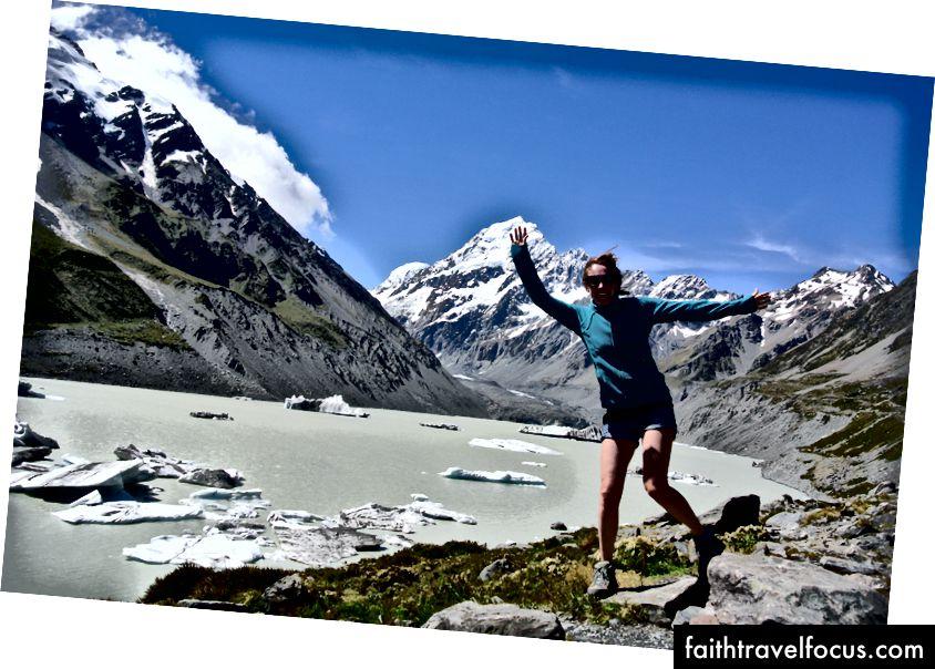 Через півроку тут я був. Маунт-Кук, Нова Зеландія.