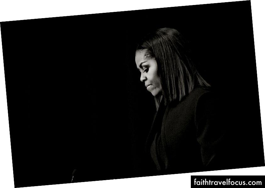 Перша леді Мішель Обама виступає після виступів у фільмі з фільмом