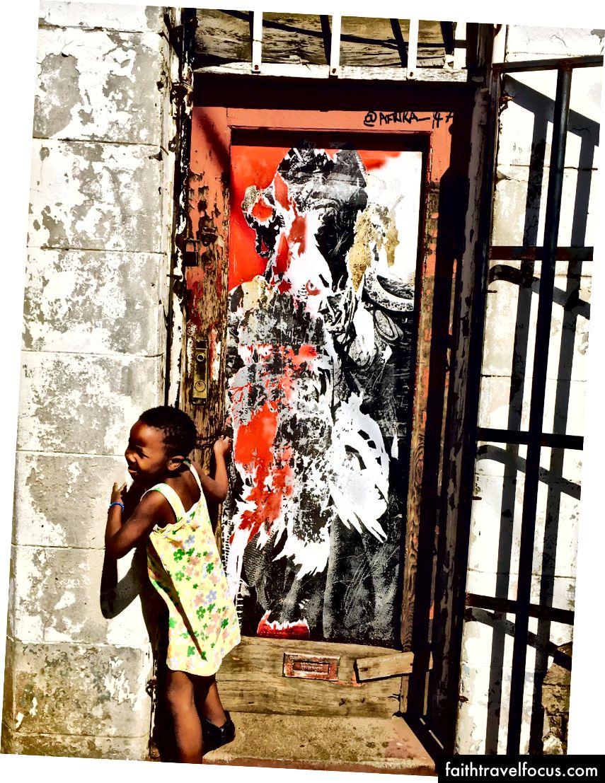 Một trong những cư dân Maboneng