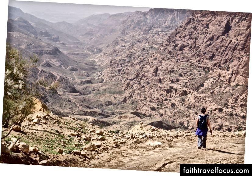 Wadi Dana, Jordan.