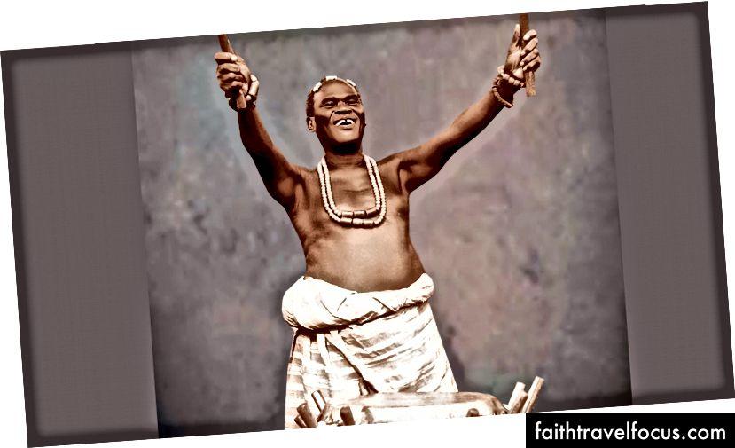 Hubert Ogunde. Ảnh của Người giám hộ NG