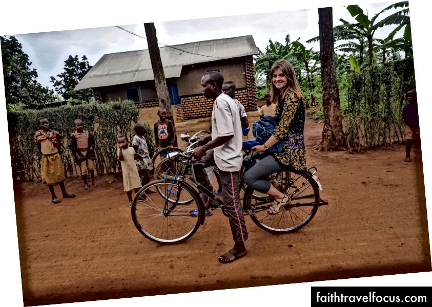 xe đạp taxi ở Rwamagana, Rwanda
