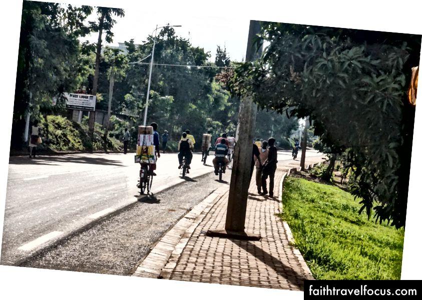 taxi xe đạp ở Rwamagana