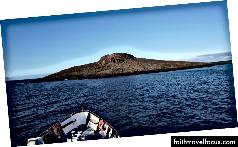 Наша перша зупинка за день - острівці Chino Sombrero
