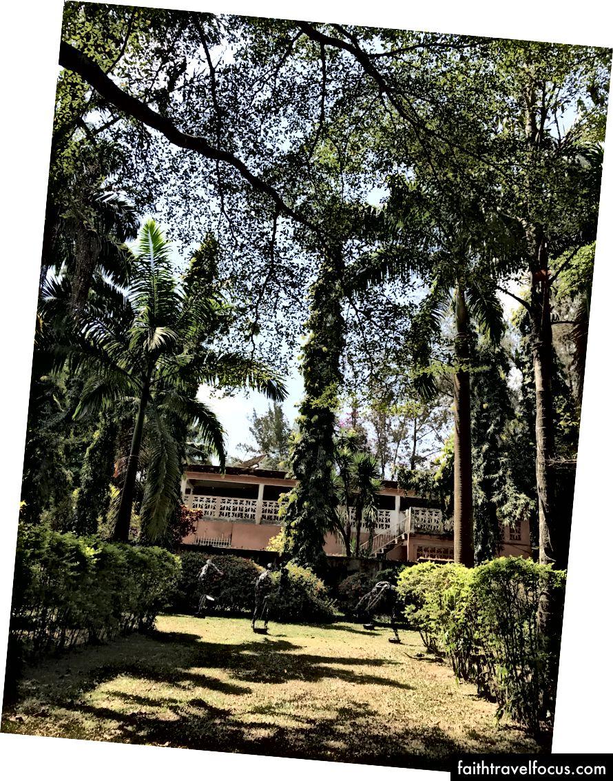 Прекрасні сади в пансіонаті Nike, Осогбо