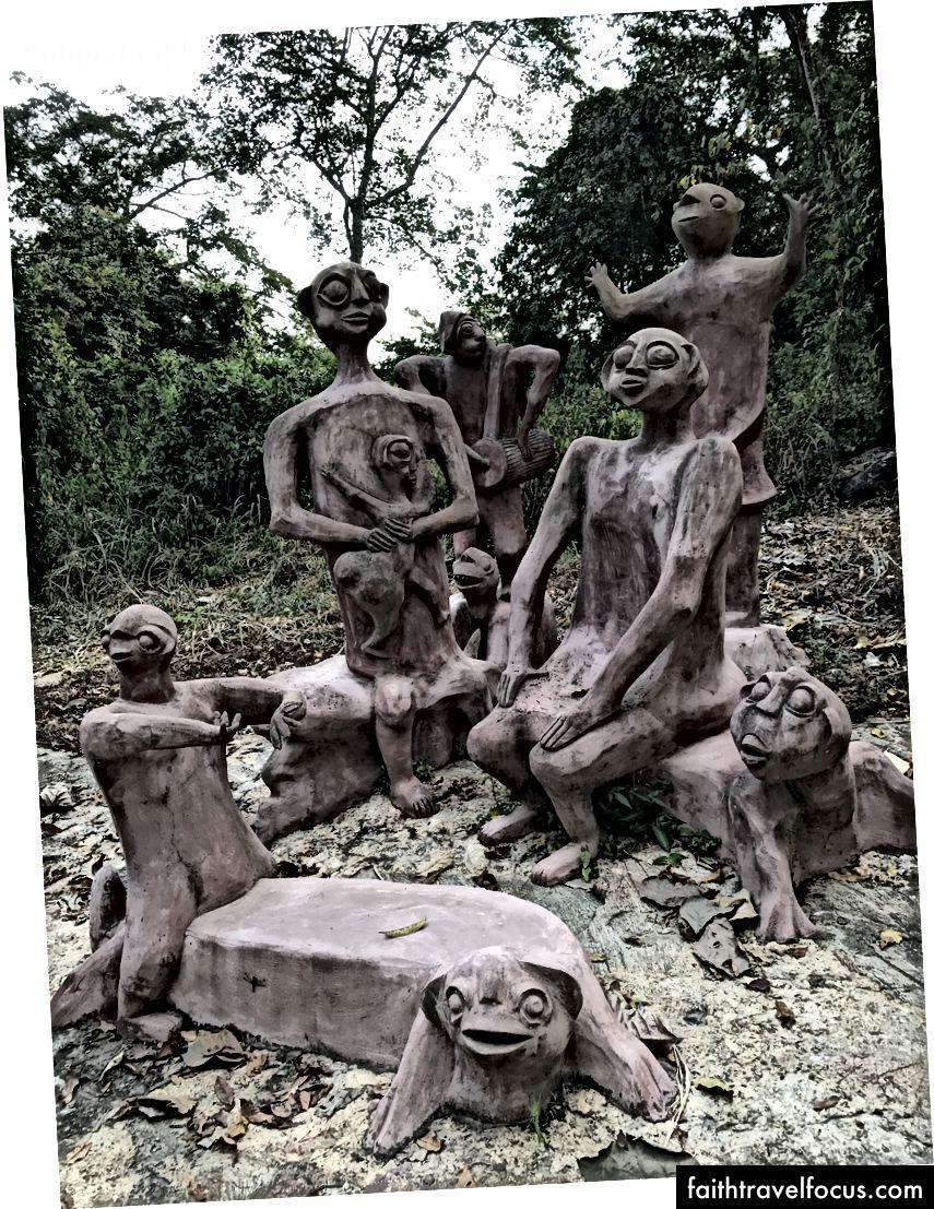 Ринок богів, скульптури Сюзанні Венгер