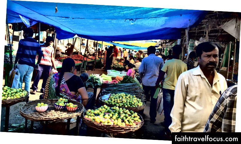 Ринки в Хайдерабаді