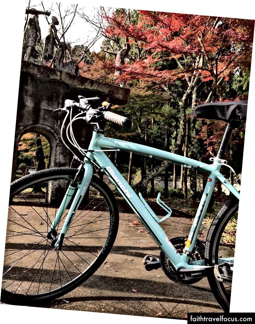 Xe đạp hồ Biwa