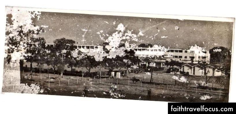 Một bức ảnh của Hội trường RK được chụp vào năm 1965