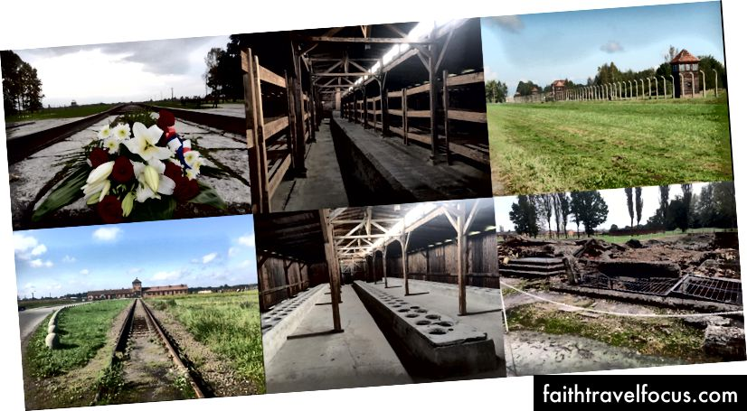 Різні фотографії з Аушвіц Біркенау
