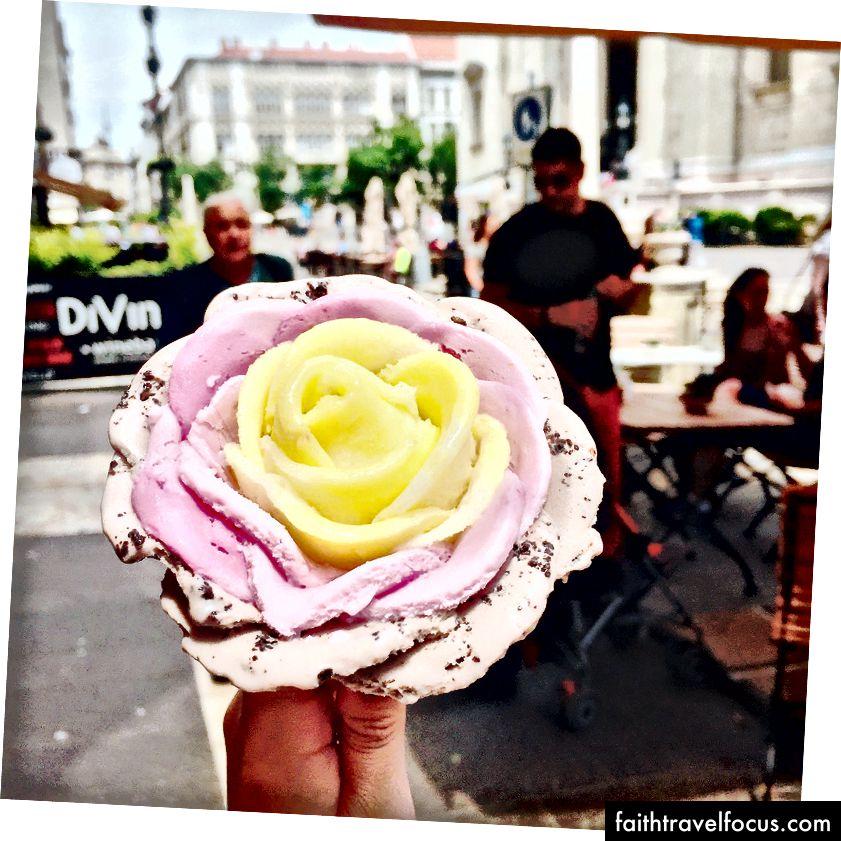 Морозиво Роза, Чехія